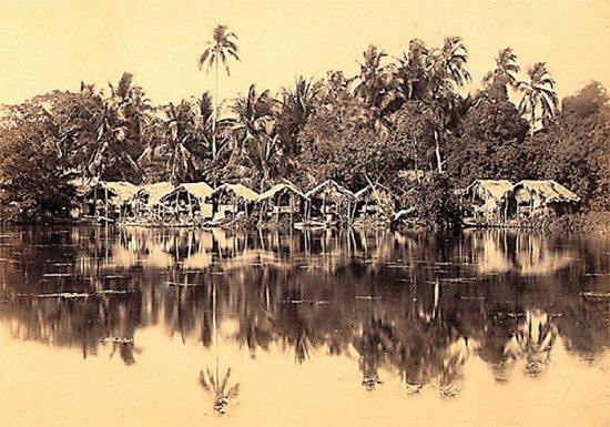 007.Phong cảnh làng bên bờ Hồ Tây