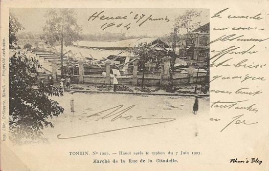1006. Chợ Đồng Xuân sập xuống sát đất