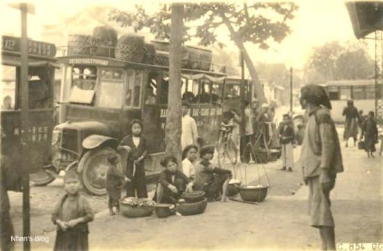 Hình ảnh bến xe thời kì hoàng kim