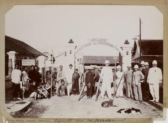 009.Hanoi (1896-1900) - Toujours mon voisin Rigault avec son ….