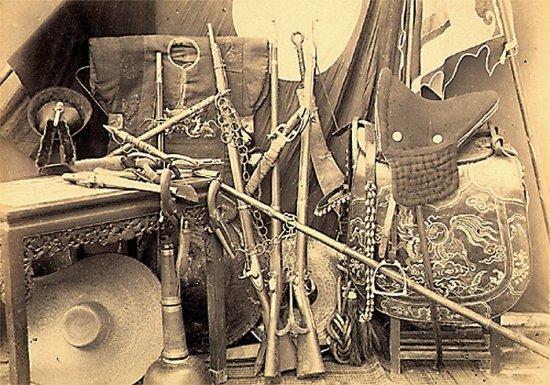 009.Vũ khí của Giặc Cờ Ðen (GCÐ) bị Pháp tịch thu