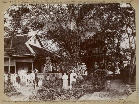 010... vài ngày trước khi họ trở về Pháp - (đã ở Đông Dương 3 năm).   1896-1900