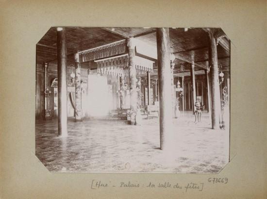 011.Hue (1896-1900) – Palais - la salle des fêtes