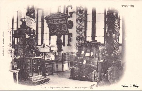 Khu trưng bày của Philippines