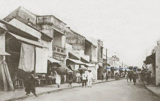 017. Phố Hàng Bè - Rue des Radeaux ( 1906)