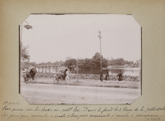 018.Hanoi 1896-1900 - Séjour d'un cartographe militaire français en Indochine