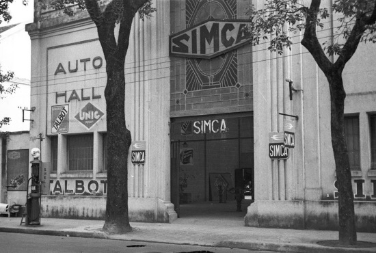 Hanoi 1940 - Simca building, a French automaker