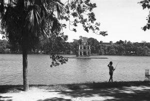 HANOI 1940 - Turtle Tower on Sword Lake