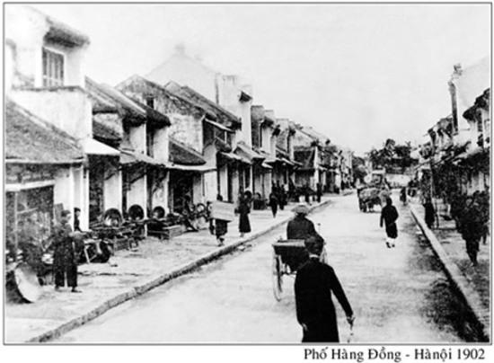 020.Phố cổ Hà Nội 1902 (phố Hàng Đồng)