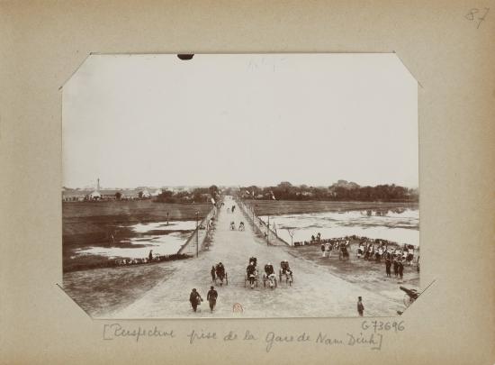 021.Perspective prise de la Gare de Nam-Dinh