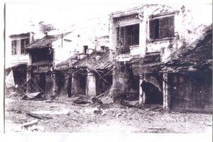 025.Hình ảnh các khu phố cổ Hà Nội trong 60 ngày đêm Hà Nội khói lửa