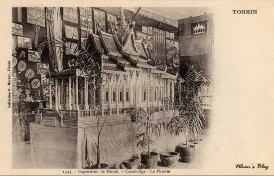 Gian hàng Campuchia