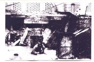 026.Chiến sĩ quyết tử khu Đồng Xuân gan góc đặt mìn trước chợ Đồng Xuân trước cuộc rút quân thần kỳ, tháng 02.1947