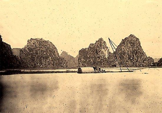 029.Vùng Kẻ-Sở, một chiếc bè lớn câu cá