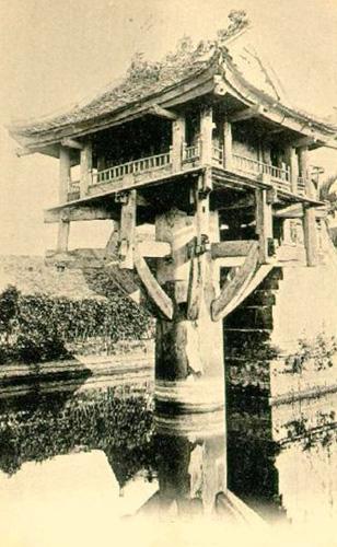 031.Chùa Một Cột những năm 1900
