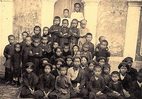 033.Một trường Thiên Chúa giáo ở Nam-Ðịnh