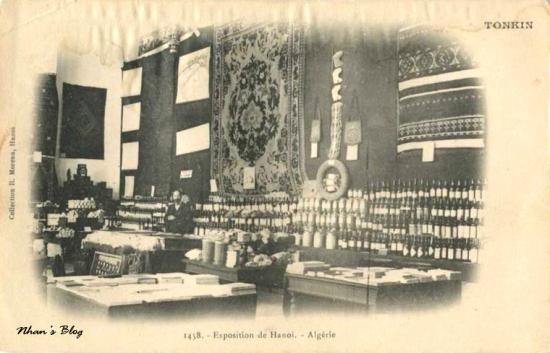 Gian hàng Algerie