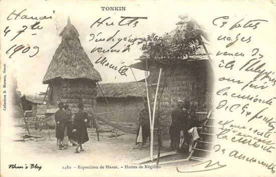 Lều của thổ dân Negrito