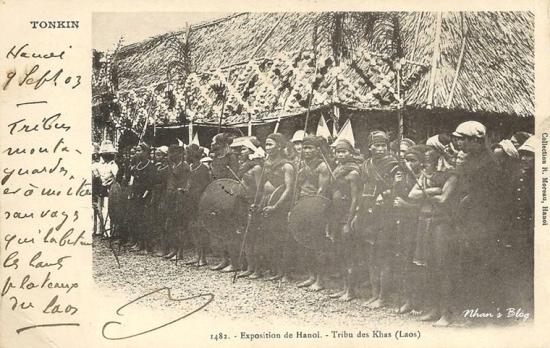 Các bộ lạc Laos