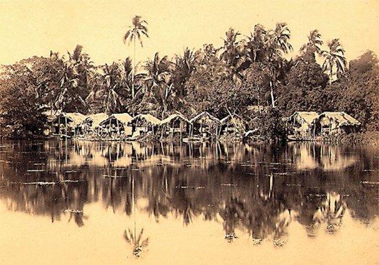 062.Phong cảnh bên bờ  Hồ Tây