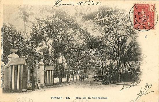 Phố Phạm Ngũ Lão ngày nay là một con phố cụt - cuối đường là Doanh trại quân đội nhân dân Việt nam