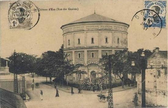 Tháp nước Hà Nội.