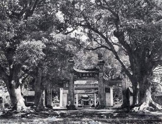 Chùa Láng vào năm 1941