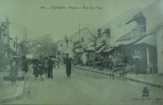 Ảnh chụp phố Hàng Điếu 6.1923.