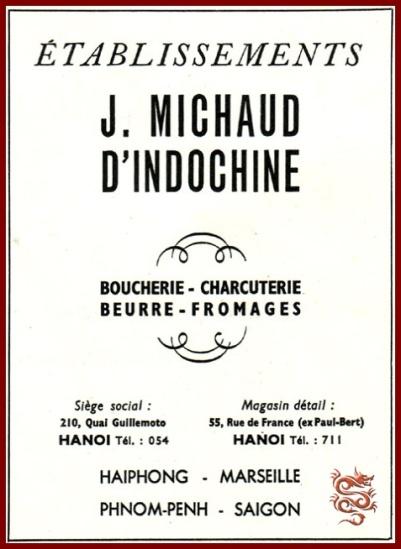 Etablissements J. MICHAUD-Michaud-Hanoi