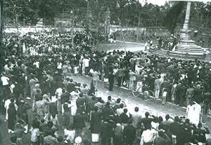Hình ảnh Lễ Kỷ niệm 157 năm Chiến thắng của Quang Trung - Nguyễn Huệ mùa Xuân 1946