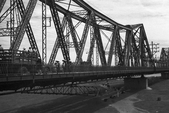 HANOI 1940 - Paul Doumer Bridge 2