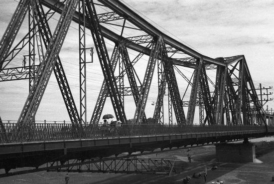HANOI 1940 - Paul Doumer Bridge 3