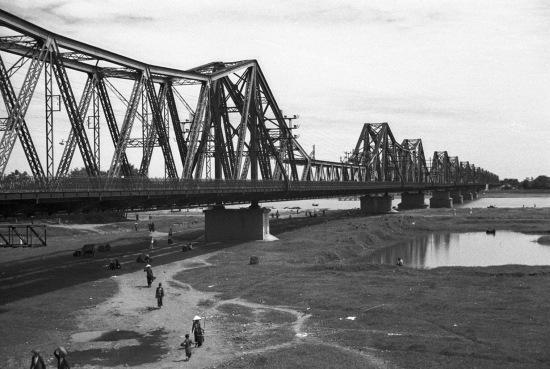 HANOI 1940 - Paul Doumer Bridge