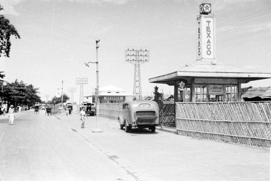 HANOI 1940 - Texaco gas station 2