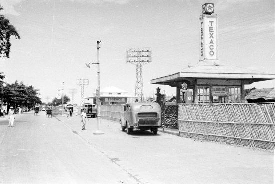 HANOI 1940 - Texaco gas station 2