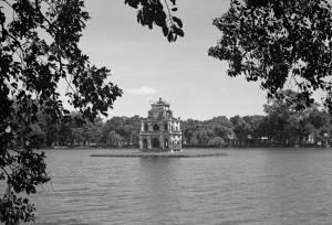 HANOI 1940 - Turtle Tower on Sword Lake 2