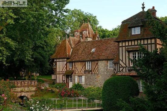 Biệt thự vùng Basse Normandie ở miền bắc nước Pháp