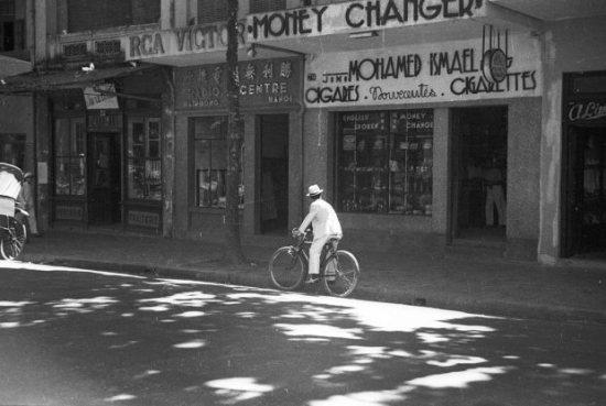 Hà Nội 1940. Ảnh Harrison Forman