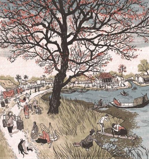 Hồ Gươm hồi thế kỷ XVII