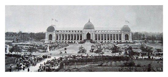 Hoạt động trong khu đấu xảo 1902