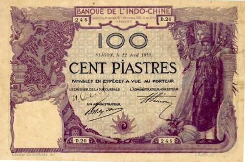 Một trăm tiền Đông Dương10