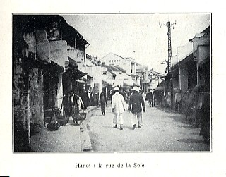 Phố Hàng Đào xưa.