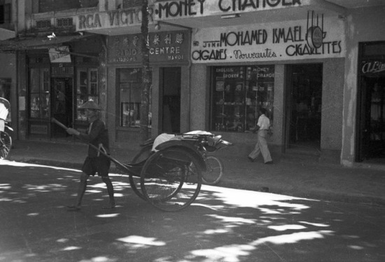 Phố Hàng Khay. 1940-50
