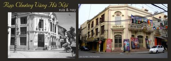 Rạp Chuông Vàng Hà Nội - xưa và nay