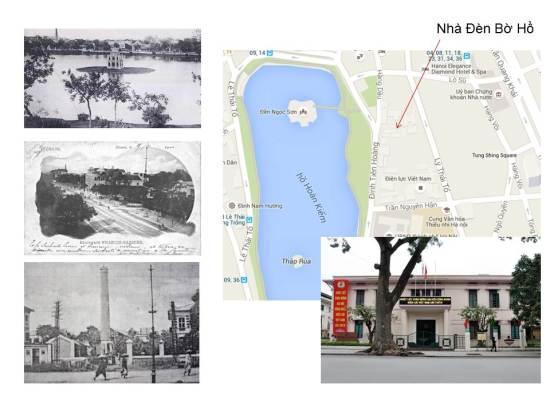 """Nhà sử học Dương Trung Quốc cho biết: """"Chúng ta biết nơi phát điện đầu tiên trên lãnh thổ Việt Nam không phải là Hà Nội mà chính là thành phố Hải Phòng. Nhưng chỉ sau đó 1 năm, Hải Phòng phát điện năm 1891 thì năm 1892, cũng cái công ty xây dựng mạng lưới điện của Hải Phòng đã quyết định ký hợp đồng với tòa thị chính của Hà Nội dịch vụ việc cung cấp ánh sáng điện nơi công cộng và năm 1892 thì xây dựng 1 trạm phát điện, ta gọi là nhà máy điện cũng được, mà người dân Hà Nội khi đó thì gọi là nhà máy đèn Bờ Hồ."""
