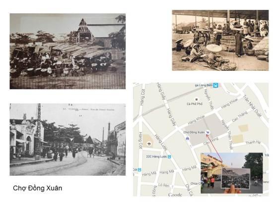 """""""Vui nhất là Chợ Đồng Xuân Thức gì cũng có xa gần bán mua""""  Câu ca dao này hẳn ra đời muộn hơn năm 1888 là thời điểm chính quyền Pháp bắt tay vào quản lý Hà Nội như một thành phố """"nhượng địa""""  và ngày 6/4/1888 đã ký một quyết định thành lập một ngôi chợ mới."""