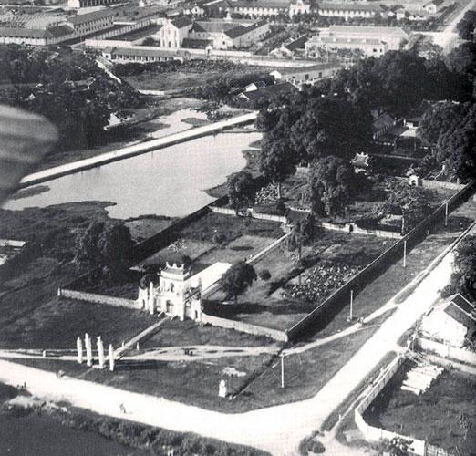 Văn Miếu - Quốc Tử Giám năm 1935