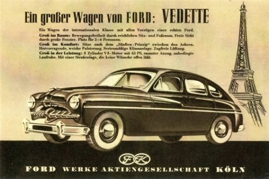 1949 Ford Vedette Overview