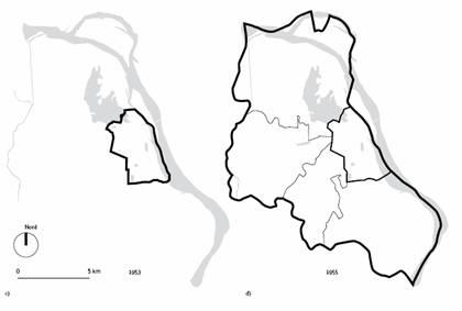 carte7-Hạn chế của Hà Nội - thị trấn thuộc địa và thị trấn xã hội chủ nghĩa Emmanuel © CHERRY