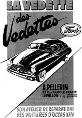 Ford Vedette 1951 (simca)